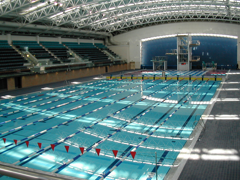 Euro pools plc for Corby international swimming pool